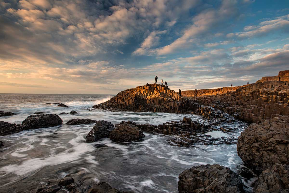 Giant's Causeway   visit the North Antrim Coast during your stay at Laurel Villa Guest House, Magherafelt
