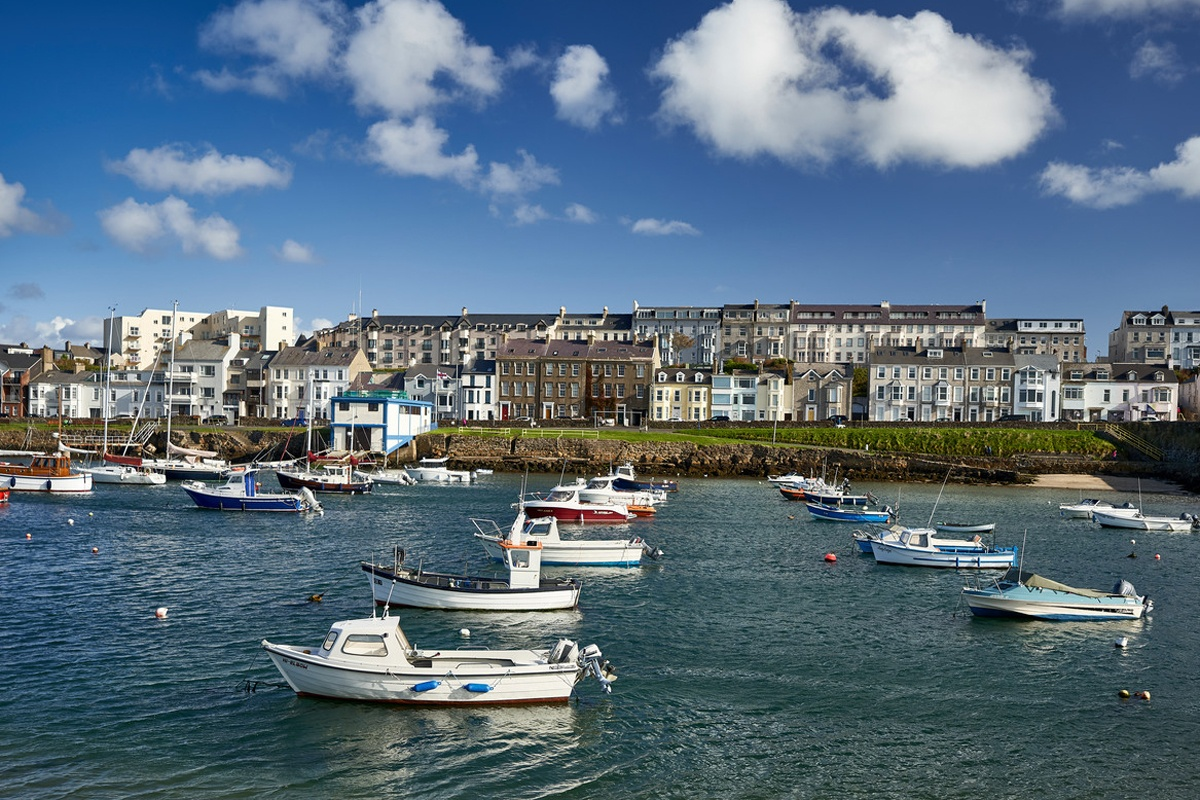 Portrush Harbour | visit the North Antrim Coast during your stay at Laurel Villa Guest House, Magherafelt