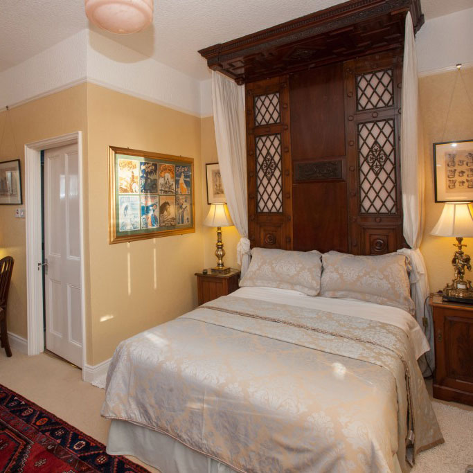 Michael Longley guest bedroom | Laurel Villa 4 star Guest House where Irish Poetry features in the carefully chosen decor and facilities throughout