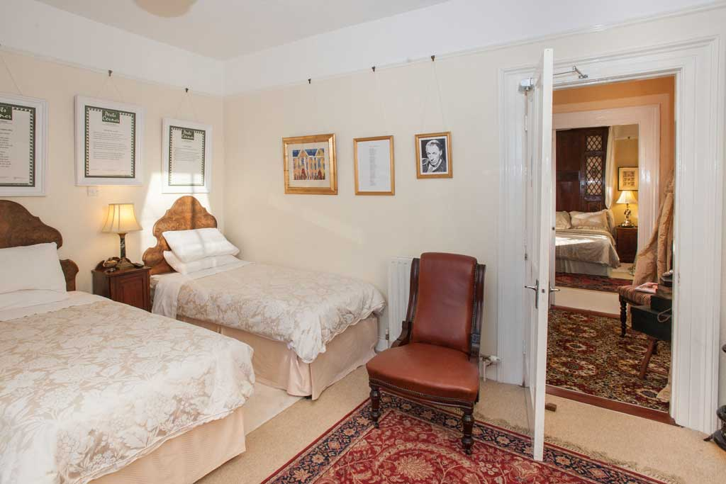 MacNeice guest bedroom | Laurel Villa 4 star Guest House where Irish Poetry features in the carefully chosen decor and facilities throughout