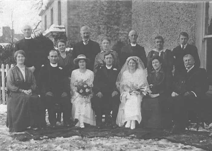 Trace your Family Roots at Laurel Villa Guest House | Frances Hunter's Wedding | Our Family Research resources and Family History Tours are ideal for those searching for family roots in the Magherafelt area and surrounds